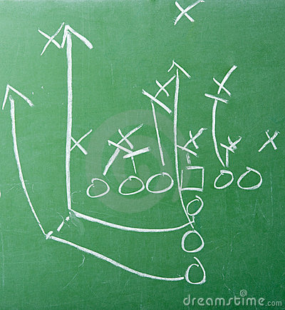 It's all about the game plan.   Random Original