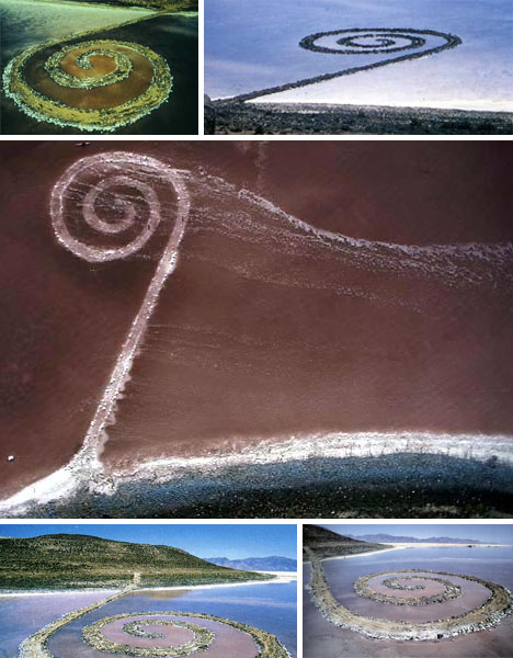 the spiral jetty by robert smithson essay